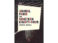 Looking to buy Animal Farm and 1984 (Centennial Edition) books by George Orwell