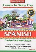 Learn Spanish CD Car