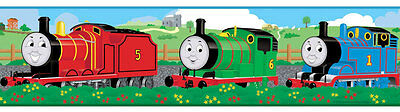 Thomas The Tank Engine & Friends Kids Stickers Peel & Stick Wall Border 15 yards for sale  USA
