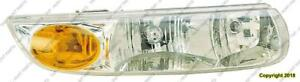 Head Lamp Passenger Side Sedan/Wagon Saturn S-Series 1991-2002