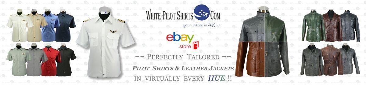 White Pilot Shirts . Com