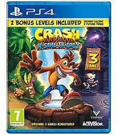 Crash banditcoot remastered ps4