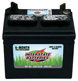 Interstate Batteries SP30 Lawn & Garden Battery -On Sale !