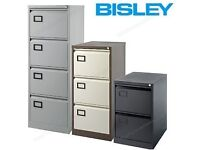 NEW Bisley Contract Filing Cabinet in Black