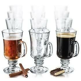 Libbey 5295- 8.5 oz Irish Coffee/Tea Mug, 12 pieces, glass