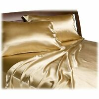 BRAND NEW SATIN SHEET SETS