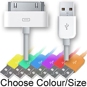 USB-DATA-SYNC-CHARGE-CABLE-for-iPhone-4-3GS-iPod-Extra-Long-Lead-iPad-Sync-Only