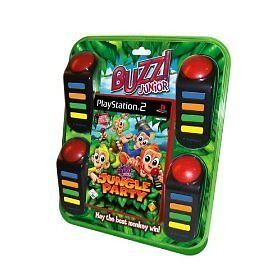 Buzz Junior: Jungle Party incl. Buzzer, PS 2, Neu, Playstation