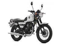 Lexmoto Valiant 125cc, New & Unused, White/Black or Black/White. 2YR WARRANTY!