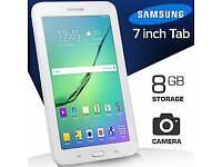 Like new use condition Wi-Fi + Cellular UNLOCKED Samsung galaxy tab 3 7inch