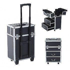Professional Makeup Artist Cosmetic Case/Extendable rolling case