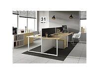 Brand new 2 person desk, still in box