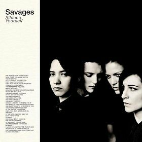 SAVAGES: Silence Yourself 2013 CLEAR VINYL LP+MP3 / SEALED