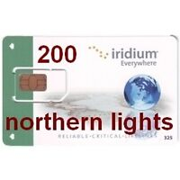 Iridium Satellite Phone Prepaid SIM Card – Canada & Alaska