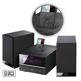 Sony stereo with ipod docking station