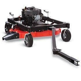 DR Power Tow Behind Finish Mowers in stock at Maritime Farm Supply Ltd.