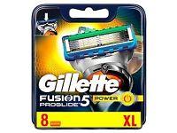 Gillette Fusion Proglide Power Razor Blades