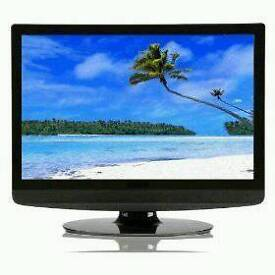 """Technika 22"""" TV with DVD player and Freeview!"""