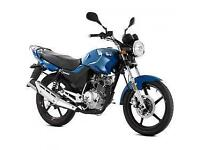 Lexmoto ZSF 125cc, 2015, New & Unused, Blue or Black or Red, Finance Available