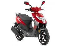 Lexmoto FM 50cc, 2015, New & Unused, Red or Blue, Finance Available from £60p/m