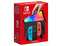 Nintendo Switch – OLED Model (Neon Blue/Neon Red)