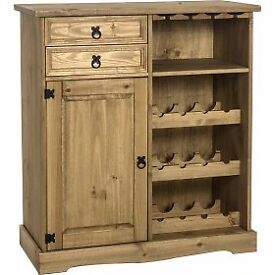 New Solid rustic wine racks in stock now £99-£135 available boxed today