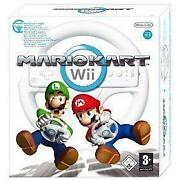 Mario Kart Wii with Wheel
