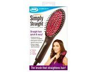 jml simply straight hairbrush