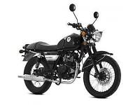Lexmoto Valiant 125cc, New & Unused, White/Black or Black/White. 2YR WARRANTY!