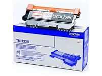 Genuine High Capacity Black Brother TN-2220 Toner Cartridge (TN2220 Laser Printer Cartridge)