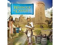 Warwick Castle - x2 Tickets Most Dates Available