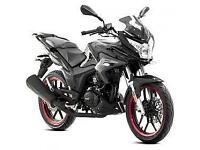 Lexmoto ZSX-F 125cc, New & Unused, White or Black. 2YR WARRANTY! FINANCE!