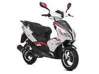 Lexmoto FMR 125cc, 2015, New & Unused, White/Red or White/Blue