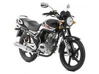 Lexmoto Arrow 125cc, 2015, New & Unused, Black or Blue, Finance Available