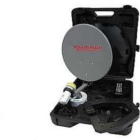 FOCUS 840 - 40CM PORTABLE SATELLITE SYSTEM BRAND NEW STOCK CLEARANCE