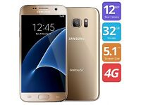 Almost Brand New Samsung Galaxy S7 Gold 32 GB