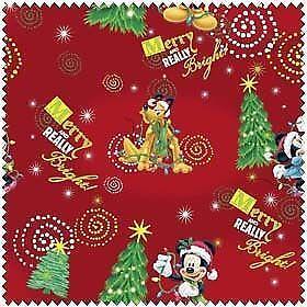 disney christmas fabric - Disney Christmas Fabric