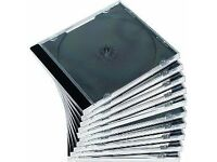 Blank CD cases 5 for £1 or 25 for £3