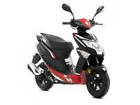 Lexmoto Echo 50, 2015, New & Unused, Red/Black or White/Blue, Finance Available
