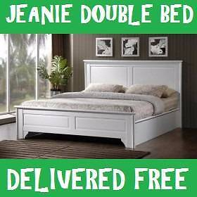 Brand New DOUBLE Size JEANIE BED FRAME - WHITE Delivered FREE New Farm Brisbane North East Preview