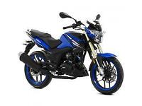 Lexmoto ZSX-R 125cc, New & Unused, Red or Blue 2YR WARRANTY! FINANCE