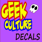 geek culture decals