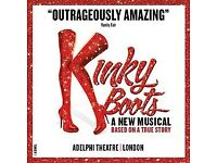 2x Tickets for Kinky Boots 24/02/18