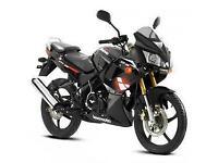 Lexmoto XTR-S 125cc, New & Unused, White/Black or Red or Black. 2YR WARRANTY!