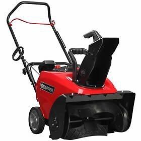 NEW Snapper Snowblower with Electric Start