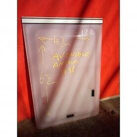 Avondale Antrim caravan bathroom window