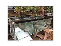 "Clearseal Aquarium Fish Tank 5 FOOT 18"" Divisions Ideal for discus breeding fish"