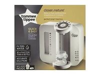tommee tippee prep machine brand new never been used only the bottle missing unwanted present
