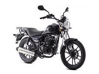 LEXMOTO ZSB GREY 125cc 125 COMMUTER CUSTOM LEANER LEGAL MOTOBIKE MOTORCYCLE