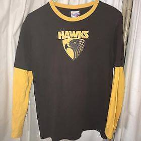 Official AFL HAWTHORN long sleeve t-shirt Preston Darebin Area Preview